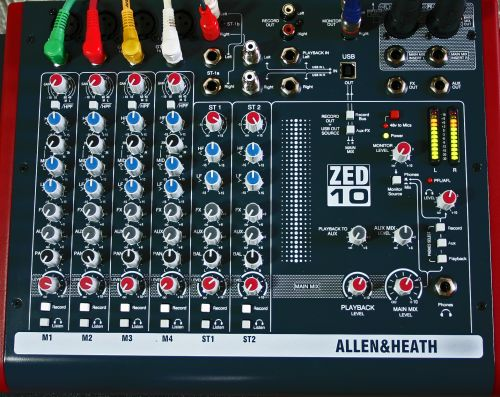 allen & heath Mischpult